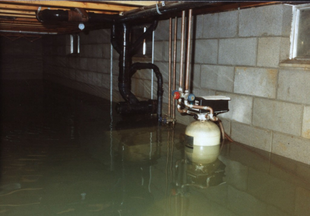 basement water removal